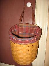 NEW Longaberger Toboso Plaid Fabric Liner 4 Your Large Foyer Basket BNIOB