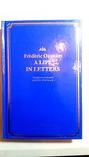 Frederick Ozanam A life in letters Founder of St Vincent De Paul Society History