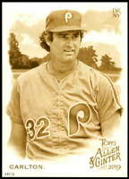 Steve Carlton 2019 Allen and Ginter 5x7 Gold #150 /10 Phillies