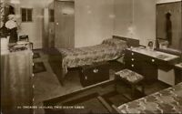 Steamship SS Orcades 1st Class Two Berth Cabin Real Photo Postcard