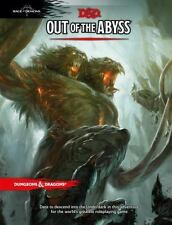 Dungeons & Dragons OUT OF THE ABYSS Wizards of the Coast RPG DND Hardcover 5E