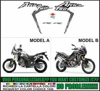 kit adesivi stickers compatibili africa twin crf 1000 L 2016-2017-2018