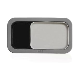 MB Silicase Gray + Black 3 Silicone molds for Monbento MB Original Lunch Box NEW