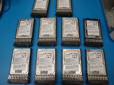 QTY 10 HP 507749-001 MM0500EANCR 500GB 2.5 SATA  with SFF Tray 508035-001