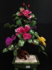REAL JADE MIXED BONSAI FLOWER TREE (99-2)