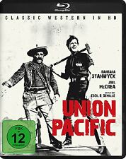 Union Pacific [Blu-ray](NEU/OVP) Cecil B. DeMille mit Anthony Quinn, Barbara Sta