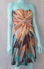MISSONI STRAPLESS KNIT DRESS UK 10 OR IT42 BNWTS RRP £795 SILK LINED