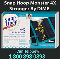 Snap Hoop Monster Magnetic Embroidery Hoop 260x400mm RM4 for Bernina 750-880