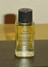 MENS Chanel POUR MONSIEUR Concentree 1/4 oz 7.5ML EAU DE TOILETTE Mini AUTH