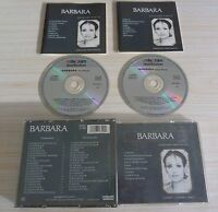 RARE BOX 2 CD ALBUM BEST OF VERSIONS ORIGINALES BARBARA 39 TITRES 1986