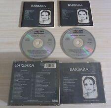 RARE BOX 2 CD ALBUM BEST OF VERSIONS ORIGINALES BARBARA 39 TITRES 1986