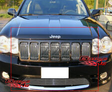 Fits Jeep Grand Cherokee SRT8 Billet Grille Combo 09-11 2011