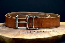 COS Vintage Womens Leather Belt Brown Size 32