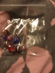 Pack Of 5 Belly Bars Assorted Colours
