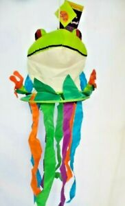 """Tree Frog Nutty Buddies Windsock by Premier. #8557 42"""" Long."""