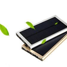 10000mah Externa Solar Power Bank Cargador Shell Sin Batería