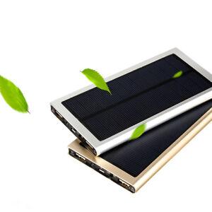 10000mah Charger External Solar Power Bank Shell No Battery