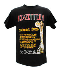 Led Zeppelin Rock Band Stairway To Heaven Graphic T-Shirts