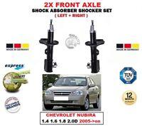Per Chevrolet Nubira 1.4 1.6 1.8 2.0D 2005- > Anteriore SX Ammortizzatore Dx Set