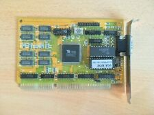 HiCOLOR-24 Tseng Labs ET4000AX 1MB 16-bit ISA S VGA Vintage Video Graphics Card