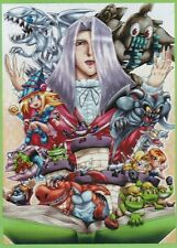 USA Seller MTG Wow Yugioh Toon Kingdom & Monster Character Sleeves