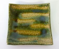 Pair of Small Japanese Square Small Dipping Dish Plate