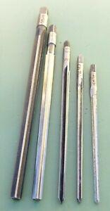 5 Kegelreibahle Ø 2 2,5 3 4 5 mm 1:50 konisch Hand Reibahle Stiftloch HSS SS