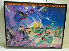 RARE 1988 Mirage Studios Teenage Mutant Ninja Turtles Framed LED Store Display