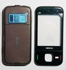 Brown Fascia Faceplate Cover Housing facia case for nokia N85   housing