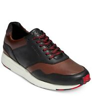 NIB Cole Haan Men's GrandPro Running Sneaker Dark Coffee/ Black/ Ivory C28697