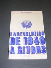 1848 la révolution de 1848 à Givors dans le Rhône Duhart Editions Sociales 1973