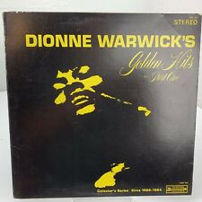 Dionne Warwick Golden Hits Part One LP Record Album Vinyl