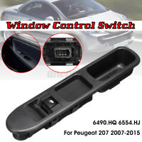 6 Pin Window Electric Control Switch Passenger Side 6490HQ For Peugeot 207 07-15
