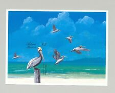 Antigua #1082 Pelican, Birds 1v S/S Imperf Proof