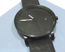 Skagen Men's Grenen Watch Black Dial Black Leather Strap 38mm SKW6308 NWT $165