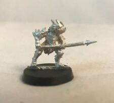 Moria Cave Goblin Metal Armored Spear LOTR GW Lord Of The Rings Games Workshop
