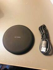 chargeur sans fil a induction QI universel tous smartphones noir samsung iphone