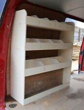 VW Transporter T5 & T6 SWB LIGHTWEIGHT Plywood Van Racking Shelving NS Rear