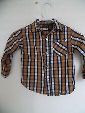 Calvin Klein  Plaid  Button Down shirt  Boy's 4T