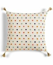 "Rainbow Martha Stewart Whim  Sprinkles 18"" Square Decorative Pillow $80"