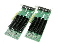 2 Dell Intel EXPX9502CX4 10Gigabit Dual Port CX4 PCI-e Server Adapter Card 42F07