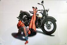 Harley-Davidson Pin-Up Metal Sign