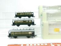 BJ87-1# 3x Trix International H0/DC Personenwagen DRG NEM: 23303+23304, NEUW+OVP