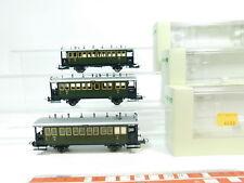 bj87-1 # 3x Trix International H0 / DC vagones DRG NEM : 23303+23304 ,NUEVO +
