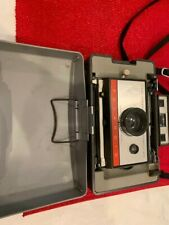 Polaroid Automatic 220 Color Pack Instant Land Camera Used with case and flash