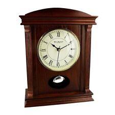 Unbranded Wooden Desk, Mantel & Carriage Clocks