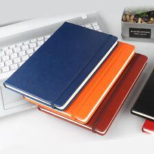 A5 Hardback Notebook Lined Journal Planner Book Ruled Pad Work School Writing UK