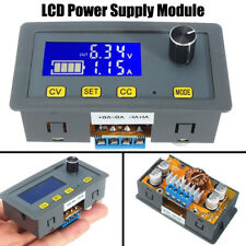 Adjustable 5A LCD Digital Step-Down Power Supply Module Board 6V-32V to 0-32V