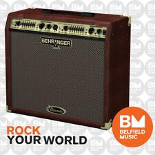 Behringer ULTRACOUSTIC ACX900 Acoustic Guitar Amplifier ACX-900 Amp 90W 2x8''