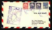 Brazil 1941 First Flight Cover to USA - Z15089